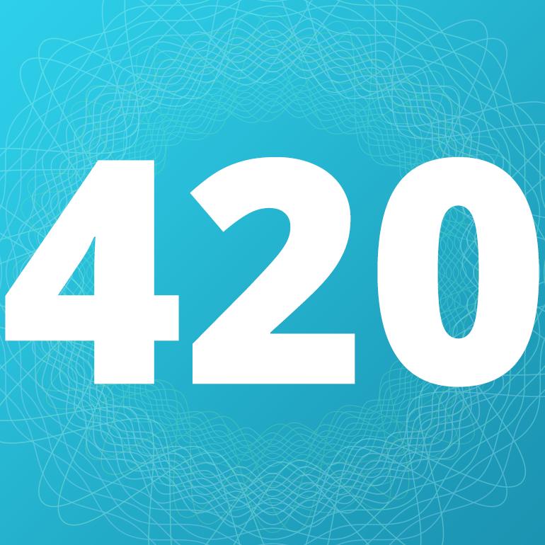 Logo for 420EvaluationsOnline - Costa Mesa
