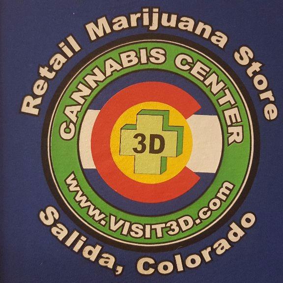 Logo for 3D Cannabis Center Salida