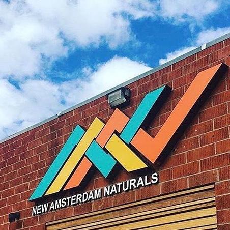 Logo for New Amsterdam Naturals Pre-ICO