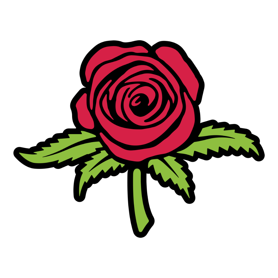 Logo for Rosebuds
