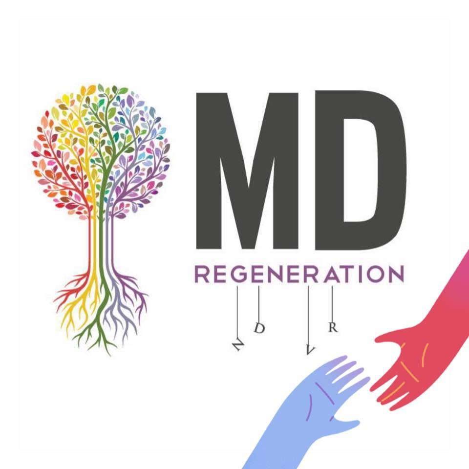 Logo for MD Regeneration - Royal Oak