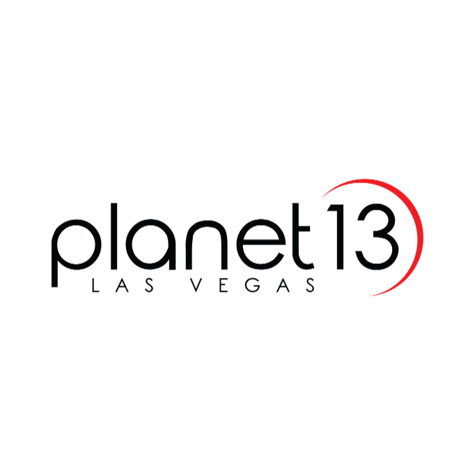 Logo for Planet 13 - Las Vegas