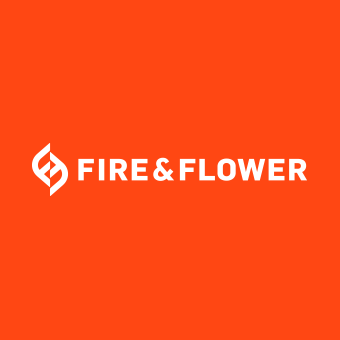 Logo for Fire & Flower - Stettler