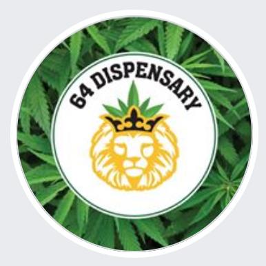 Logo for 64 Dispensary