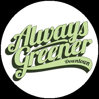 Logo for Always Greener Downtown - Redmond