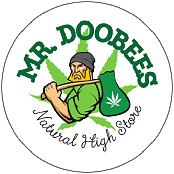 Logo for Mr. Doobees - Natural High Store