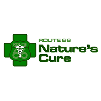 Logo for Route 66 Nature's Cure