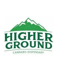 Logo for Higher Ground Dispensary - Oregon