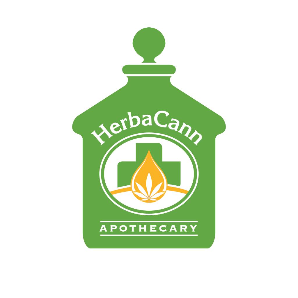 Logo for HerbaCann Apothecary