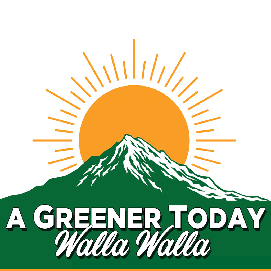 Logo for A Greener Today - Walla Walla