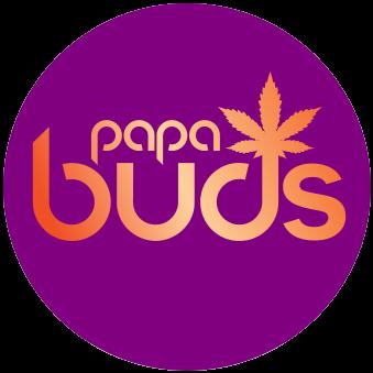 Logo for Papa Buds
