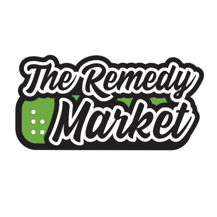 Logo for The Remedy Market - CBD STORE