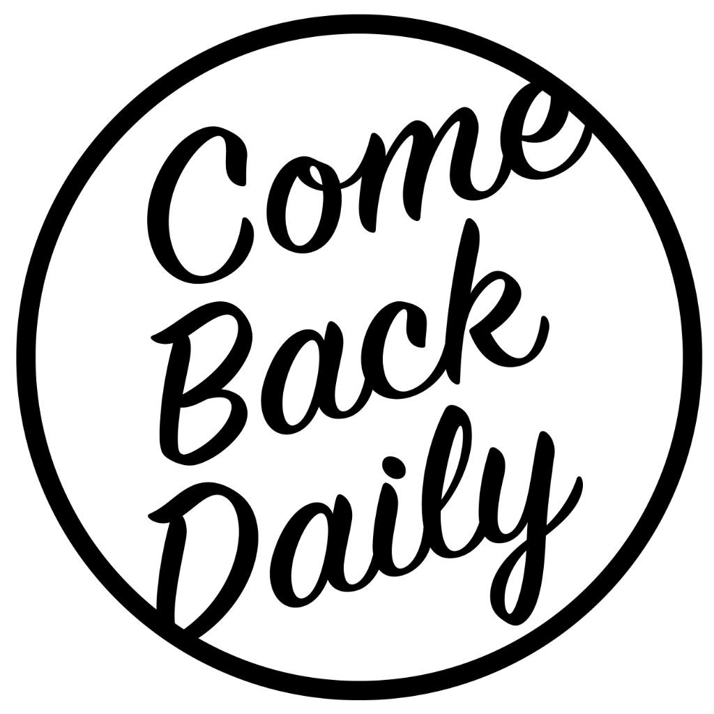 Logo for Come Back Daily