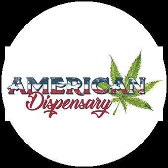Logo for American Dispensary