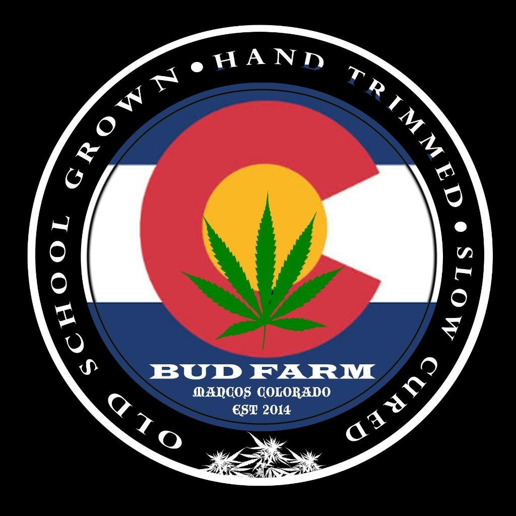 Logo for The Bud Farm