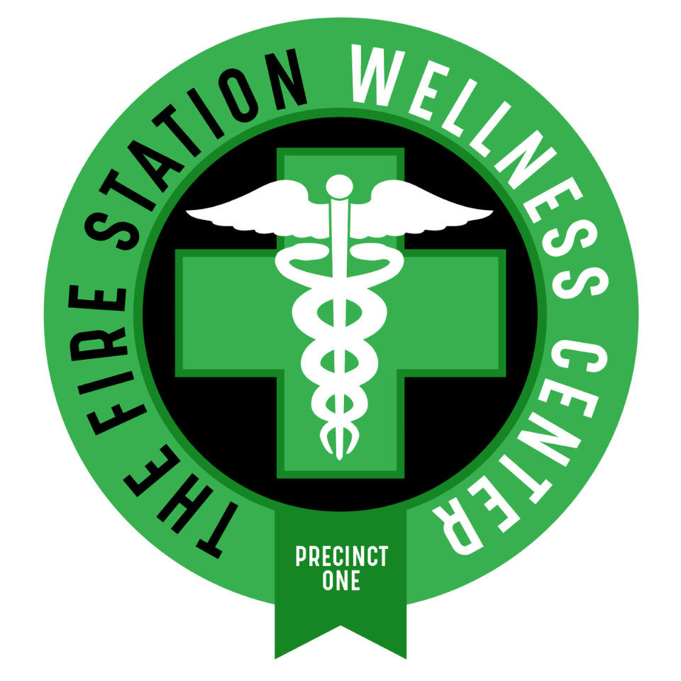 Logo for The Fire Station Wellness Center
