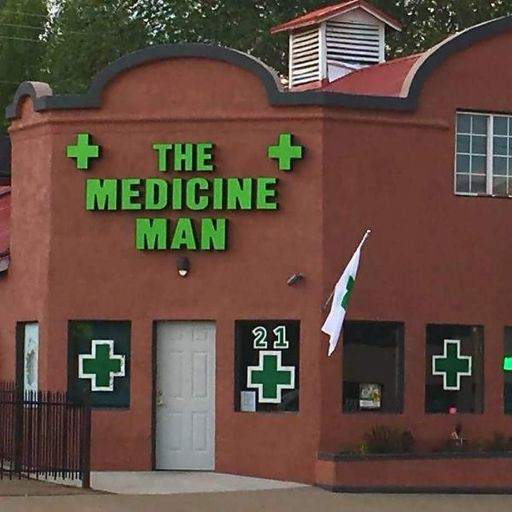Logo for The Medicine Man - Cortez