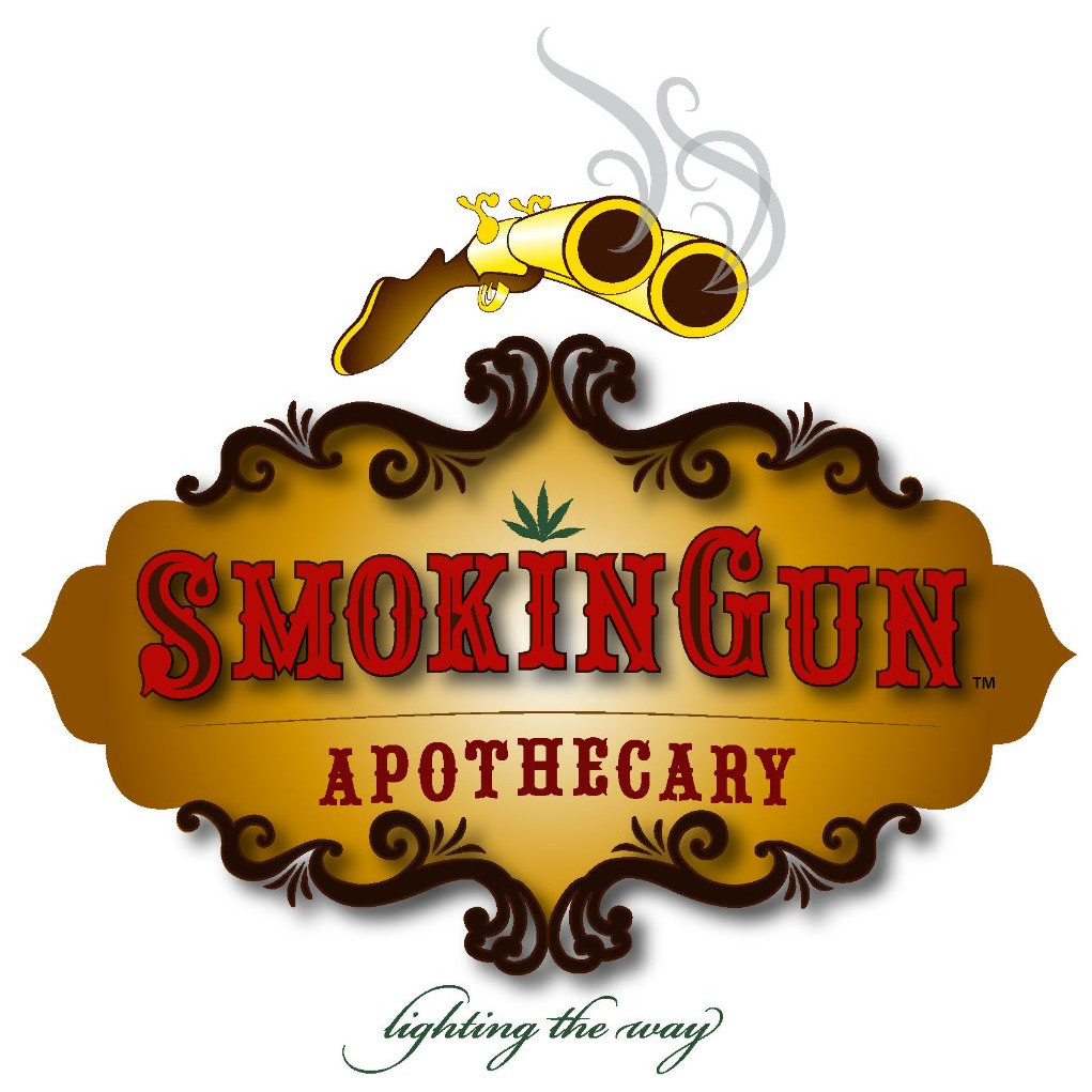 Logo for Smokin Gun Apothecary