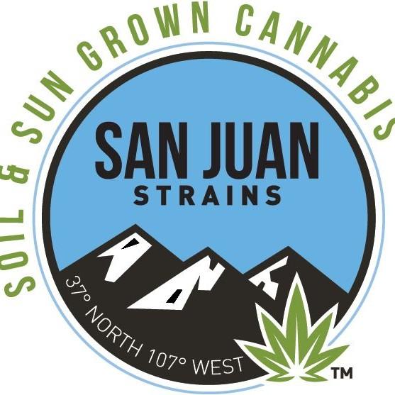 Logo for San Juan Strains - Pagosa Springs