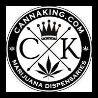 Logo for CannaKing Marijuana Dispensary