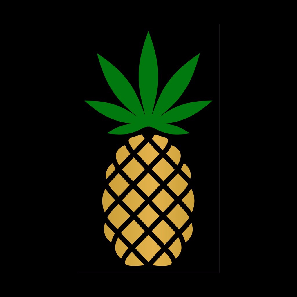 Logo for Pineapple Express Delivers