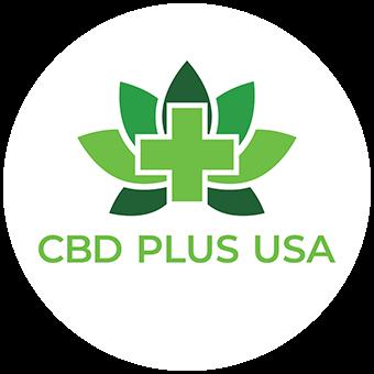 Logo for CBD Plus USA - Purcell