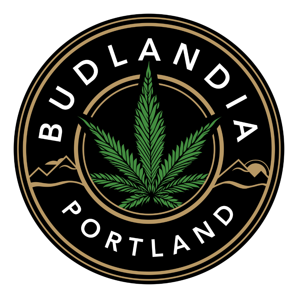 Logo for Budlandia - Woodward St.