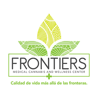 Logo for Frontiers Medical Cannabis & Wellness Center Caguas