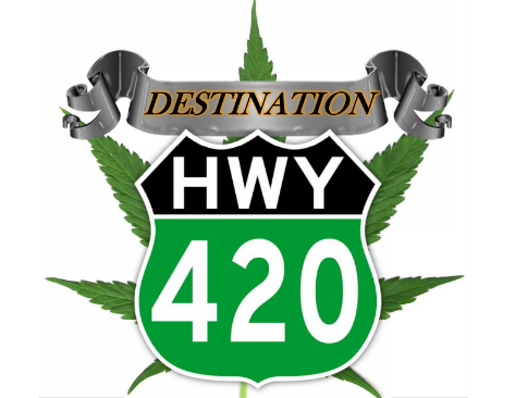 Logo for Destination Hwy 420