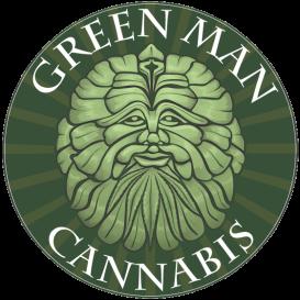 Logo for Green Man Cannabis - Santa Fe