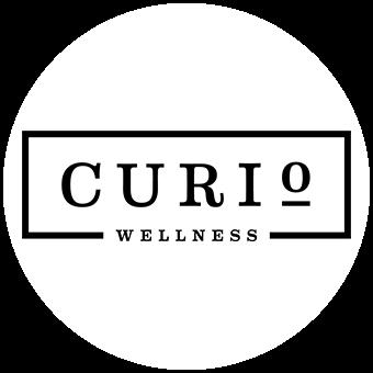 Logo for Curio Wellness