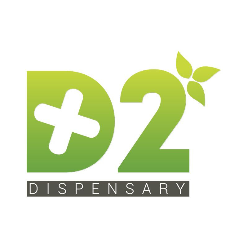 Logo for The D2 Dispensary