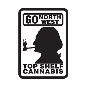 Logo for Top Shelf Cannabis - Brookings